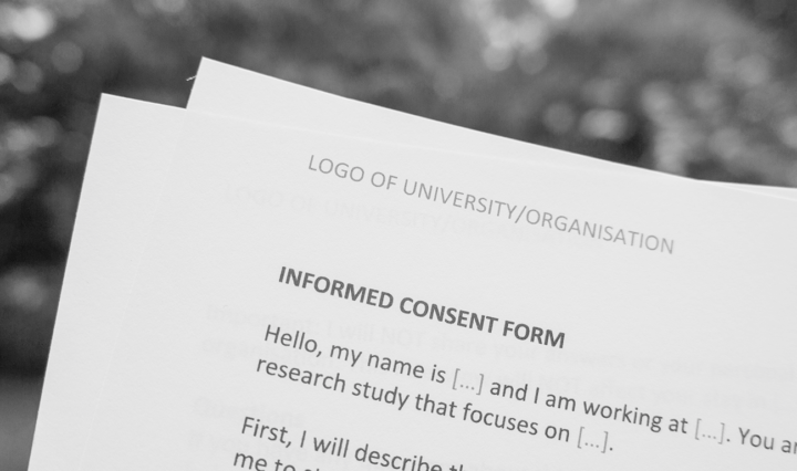 Informed Consent Interviews Refugees